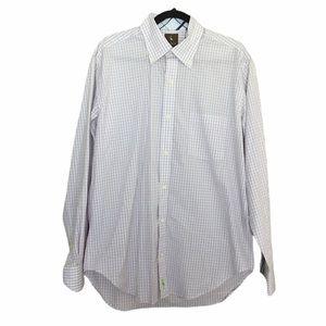 Tailorbyrd Mens Long Sleeve Dress Shirt Sz. L